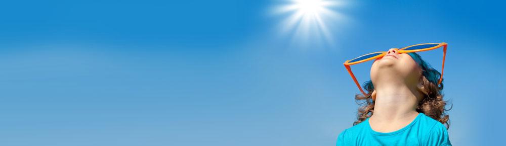 Her mit der Sonne!